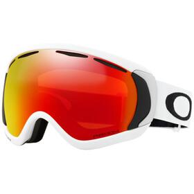 Oakley Canopy Snow Goggles Unisex matte white/prizm torch iridium